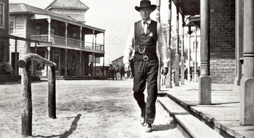 Poster from the motion picture Highnoon